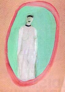 Una de las pinturas de Joy Laville
