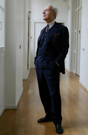 Marc Fumaroli ganó esta primavera el Premio Reino de Redonda, que también poseen Coetzee, Elliot, Magris, Rohmer, Munro, Bradbury, Steiner y Eco. Foto: Daniel Mordzinski