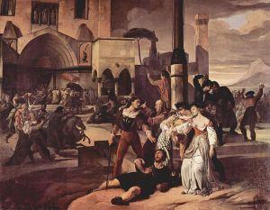 Así vio Francesco Hayez la revuelta de 1282