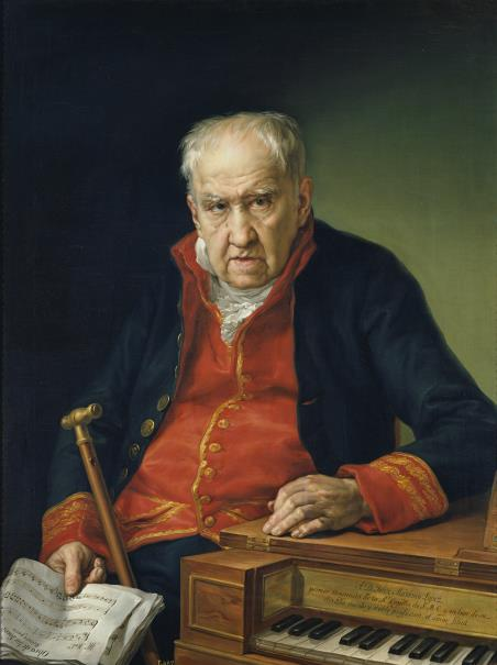 Vicente López. 'Félix Máximo López'. Museo del Prado